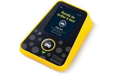 Book a taxi at the push of a button!